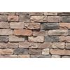 M-Rock Pioneer Easy Stack 100-sq ft Brown Stone Veneer