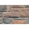 M-Rock Brookshire Castle Brown Molded Corner Stone Veneer Trim