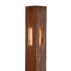 Woodshades 4-in x 4-in x 8-ft Cedar Composite Corner Post
