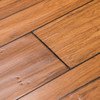 Cali Bamboo 5.39-in W Prefinished Bamboo Hardwood Flooring (Distressed Mocha Wide Click Fossilzied)