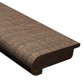 Shop cali bamboo 2 5 in x 78 in dark brown cork stair nose for Cali bamboo cork flooring