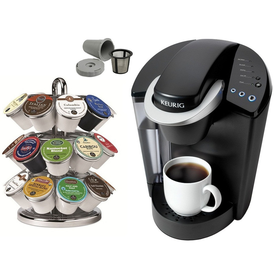 Shop Keurig Black Single-Serve Coffee Maker at Lowes.com