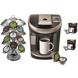 Keurig Coffee Maker Lowes : Shop Keurig Black Programmable Single-Serve Coffee Maker at Lowes.com