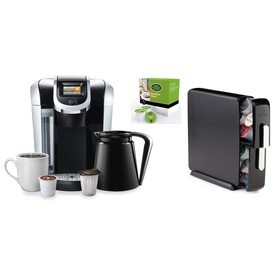 Keurig Coffee Maker Programmable : Shop Keurig Black Programmable Single-Serve Coffee Maker at Lowes.com