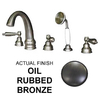 Watertech Whirlpool Baths 5-Piece Oil-Rubbed Bronze Roman Tub Faucet