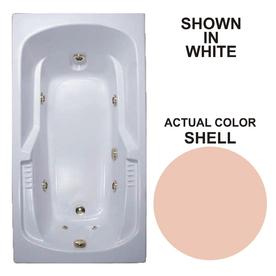 whirlpool baths warertech shell acrylic rectangular whirlpool tub