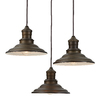 allen + roth Hainsbrook 18.3-in Aged Bronze Multi-Light Pendant