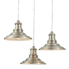 allen + roth Hainsbrook 18.3-in Antique Pewter Multi-Light Pendant