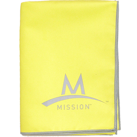 Mission Yellow Polyester Cooling Towel