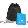Mission Blue Polyester EnduraCool Instant Cooling Towel
