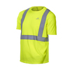 Mission Large Safety Green High Visibility Reflective Tagless T-Shirt