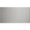 Dimensions Matte White Faux Tin Surface-Mount Acoustic Ceiling Tile (Common: 48-in x 24-in; Actual: 48.5-in x 24.5-in)