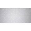 Dimensions White Faux Tin Surface-Mount Ceiling Tile (Common: 48-in x 24-in; Actual: 48.5-in x 24.5-in)