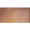 Dimensions Copper Faux Tin Surface-Mount Ceiling Tile (Common: 48-in x 24-in; Actual: 48.5-in x 24.5-in)