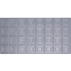 Dimensions Nickel Faux Tin Surface-Mount Ceiling Tile (Common: 48-in x 24-in; Actual: 48.5-in x 24.5-in)