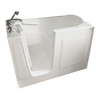 American Standard 60-in x 30-in White Rectangular Walk-In Bathtub with Left-Hand Drain