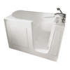 American Standard 60-in x 30-in White Rectangular Walk-In Bathtub with Right-Hand Drain