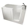 American Standard Walk-in Gelcoat and Fiberglass Rectangular Walk-in Bathtub with Right-Hand Drain (Common: 30-in x 60-in; Actual: 38-in x 30-in x 60-in)