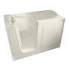 American Standard 60-in x 30-in Linen Rectangular Walk-In Bathtub with Left-Hand Drain