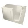 American Standard 60-in x 30-in Linen Rectangular Walk-In Bathtub with Right-Hand Drain