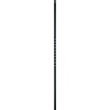 44-in Satin Black Wrought Iron Twist Stair Baluster