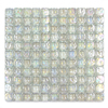 Solistone Piano Glass 10-Pack Opal Uniform Squares Mosaic Glass Wall Tile (Common: 12-in x 12-in; Actual: 12-in x 12-in)