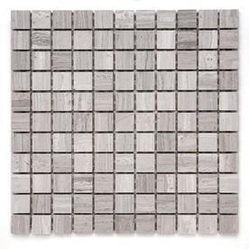 Solistone 10-Pack 12-in x 12-in Gray Indoor/Outdoor Natural Marble Floor Tile