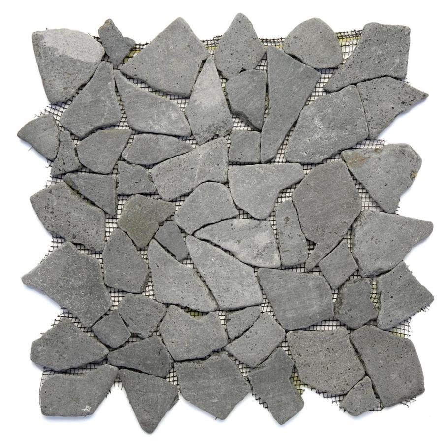 Shop Solistone 10 Pack Indonesian Pebbles Java Black