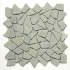 Solistone 10-Pack Indonesian Pebbles Green Gobos Natural Stone Mosaic Random Indoor/Outdoor Floor Tile (Common: 12-in x 12-in; Actual: 12-in x 12-in)