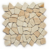 Solistone 10-Pack Indonesian Pebbles Bamboo Natural Stone Mosaic Random Indoor/Outdoor Floor Tile (Common: 12-in x 12-in; Actual: 12-in x 12-in)
