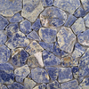 Solistone 10-Pack 12-in x 12-in Solistone Blue Natural Stone Mosaic Floor Tile