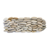 Solistone 15-Pack 4-in x 12-in Standing Decorative Pebbles Beige Natural Stone Wall Tile