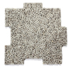 Solistone Palazzo Pebbles 10-Pack Flavia Pebble Mosaic Pebble Floor and Wall Tile (Common: 12-in x 12-in; Actual: 12-in x 12-in)