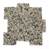 Solistone Palazzo Pebbles 10-Pack Antica Pebble Mosaic Pebble Floor and Wall Tile (Common: 12-in x 12-in; Actual: 12-in x 12-in)
