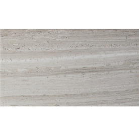 Solistone 10-Pack 6-in x 14-in Haisa Light Gray Natural Stone Wall Tile
