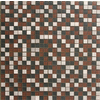 Solistone 10-Pack 12-in x 12-in Opera Multicolor Stone Wall Tile