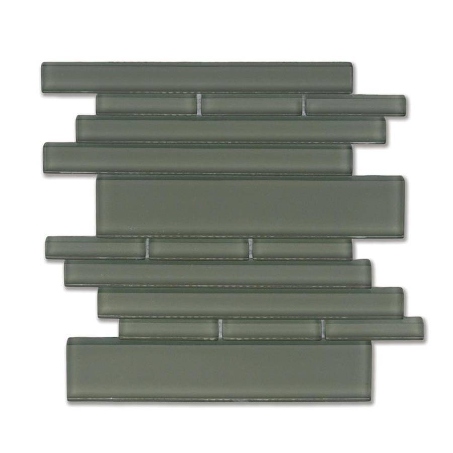 Shop Solistone 10 Pack Piano Opus Glass Mosaic Indoor