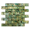 Solistone Folia Glass 10-Pack Octotillo Subway Mosaic Glass Wall Tile (Common: 12-in x 12-in; Actual: 12-in x 12-in)