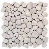 Solistone 10-Pack Light Gray Marble Floor and Wall Tile (Common: 12-in x 12-in; Actual: 12-in x 12-in)