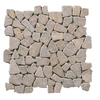 Solistone 10-Pack 12-in x 12-in Brown Indoor/Outdoor Natural Stone Floor Tile