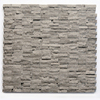 Solistone 10-Pack 12-in x 12-in Haisa Dark Gray Natural Stone Wall Tile