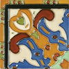 Solistone Hand-Painted 10-Pack Figuras Ceramic Wall Tile (Common: 6-in x 6-in; Actual: 6-in x 6-in)