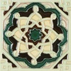 Solistone Hand Painted Deco Tile 10-Pack Multicolor Color Ceramic Wall Tile (Common: 6-in x 6-in; Actual: 6-in x 6-in)