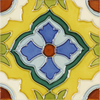 Solistone Hand-Painted 10-Pack Laguna Ceramic Wall Tile (Common: 6-in x 6-in; Actual: 6-in x 6-in)