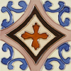Solistone Hand-Painted 10-Pack Trebol Ceramic Wall Tile (Common: 6-in x 6-in; Actual: 6-in x 6-in)