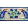 Solistone Hand-Painted 10-Pack Tulips Ceramic Wall Tile (Common: 3-in x 6-in; Actual: 3-in x 6-in)