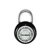 Wordlock Steel Regular Shackle Keyed/Combination Padlock