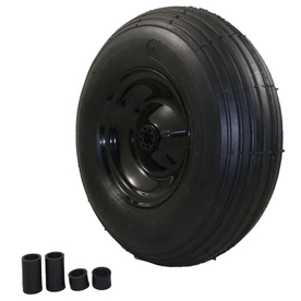 Marathon 13.2-in Wheel for Wheelbarrow