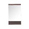 Avanity Milo 4.6-in W x 35.4-in H Iron Wood Rectangular Bathroom Mirror