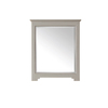 Avanity Newport 1.9-in W x 32-in H French Gray Rectangular Bathroom Mirror
